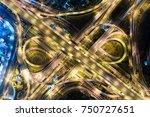 aerial transport traffic bird... | Shutterstock . vector #750727651