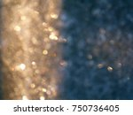 reflections from the frosty... | Shutterstock . vector #750736405