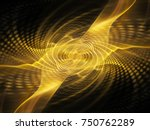 abstract golden background... | Shutterstock . vector #750762289