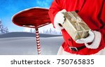 Digital Composite Of Santa...