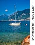 greece landscape | Shutterstock . vector #750811384