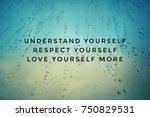motivational and inspirational... | Shutterstock . vector #750829531