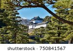 imperial palace tokyo japan | Shutterstock . vector #750841567