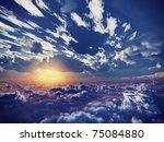 Beautiful View Above Cloudscap...