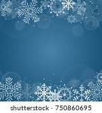 new year background with... | Shutterstock .eps vector #750860695