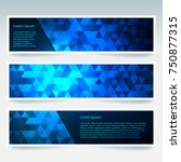 abstract banner with business... | Shutterstock .eps vector #750877315