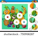cartoon illustration of... | Shutterstock . vector #750908287