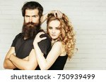 fashion  beauty  style concept. ... | Shutterstock . vector #750939499