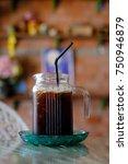 Small photo of iced americano black coffe