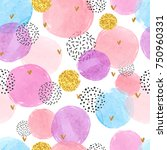 abstract celebration background ... | Shutterstock .eps vector #750960331