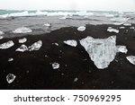ice that look like diamond is...   Shutterstock . vector #750969295