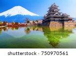 matsumoto castle   one of japan'... | Shutterstock . vector #750970561