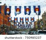 denver  colorado  usa   april 8 ... | Shutterstock . vector #750985237