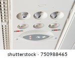 air conditioner  light  no... | Shutterstock . vector #750988465
