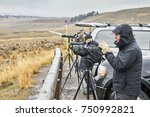 yellowstone national park ... | Shutterstock . vector #750992821