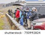 yellowstone national park ... | Shutterstock . vector #750992824