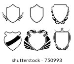 vector art of collection of... | Shutterstock . vector #750993