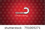 christmas loading background... | Shutterstock .eps vector #751005271