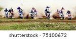 Постер, плакат: Motocross competition Fabrichny Cup