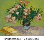 Oleanders  By Vincent Van Gogh...