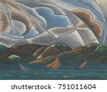 Clouds And Water  By Arthur...