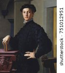 Portrait Of A Young Man  By...