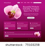 beauty website template