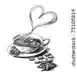 coffee | Shutterstock . vector #75105814