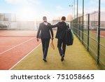 business  partnership  sport.... | Shutterstock . vector #751058665