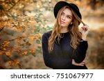 close up portrait of a...   Shutterstock . vector #751067977