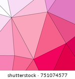 abstract colored texture of... | Shutterstock . vector #751074577