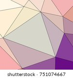 abstract colored texture of... | Shutterstock . vector #751074667
