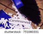 cleaning the bad character of a ... | Shutterstock . vector #751080331
