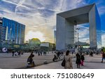 paris  france   october 05 ... | Shutterstock . vector #751080649
