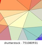 multicolor texture made using... | Shutterstock . vector #751080931