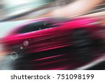 abstract futuristic background...   Shutterstock . vector #751098199