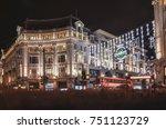 london  7th november  2017   ... | Shutterstock . vector #751123729