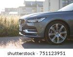 volvo v90 d5 inscription  ... | Shutterstock . vector #751123951