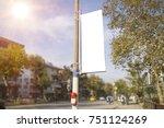 Street blank mockup