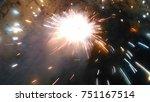 fireworks crackers illumination   Shutterstock . vector #751167514