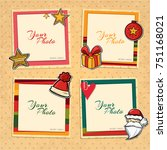 decorative vector template... | Shutterstock .eps vector #751168021