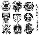 school emblems  college... | Shutterstock . vector #751176859