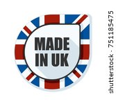 made in united kingdom of great ... | Shutterstock .eps vector #751185475