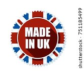 made in united kingdom of great ... | Shutterstock .eps vector #751185499