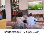work hard play hard. workers... | Shutterstock . vector #751212634