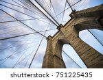 architectural close up detail... | Shutterstock . vector #751225435