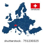 vector illustration of a map of ... | Shutterstock .eps vector #751230325