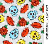 Seamless Colorful Pattern Of...