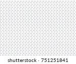 vector seamless sports wear... | Shutterstock .eps vector #751251841