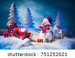 New Year. The Snowman Unloads...